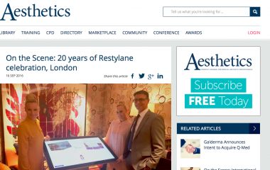 Restylane 20 Years